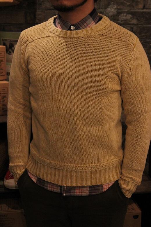 "melple \""summer knit & work shirts\"" ご紹介_f0191324_9262412.jpg"