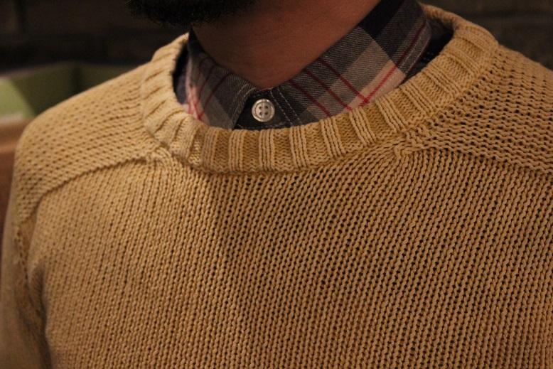 "melple \""summer knit & work shirts\"" ご紹介_f0191324_9263384.jpg"