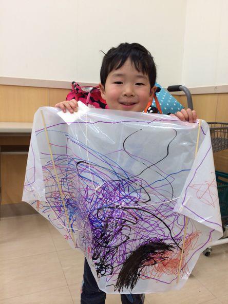 八尾教室〜凧作り_f0215199_19172176.jpg
