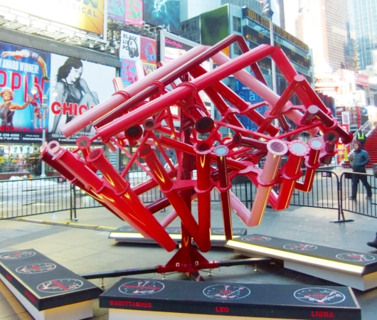 NYのタイムズスクエアに、相性診断できるアート作品「マッチ・メーカー」登場中_b0007805_14125553.jpg