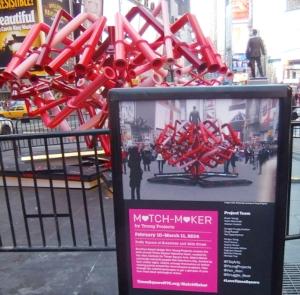 NYのタイムズスクエアに、相性診断できるアート作品「マッチ・メーカー」登場中_b0007805_14422786.jpg