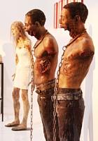NYの街角では、ゾンビのドッキリにもご注意ください:) The Walking Dead Zombies Prank NYC _b0007805_14581037.jpg