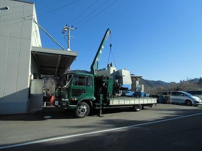 機械搬入日_a0272042_1737178.jpg