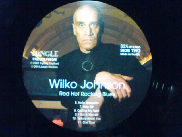 本日到着レコ 〜 Red Hot Rocking Blues / Wilko Johnson_c0104445_22225366.jpg