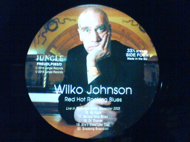 本日到着レコ 〜 Red Hot Rocking Blues / Wilko Johnson_c0104445_22225912.jpg