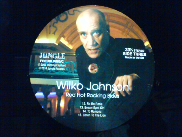 本日到着レコ 〜 Red Hot Rocking Blues / Wilko Johnson_c0104445_22232329.jpg