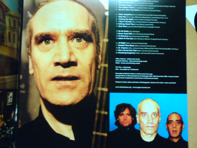 本日到着レコ 〜 Red Hot Rocking Blues / Wilko Johnson_c0104445_22292219.jpg