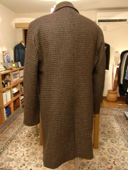 「Harris Tweed」 de ステンカラーコート ~Tweed on Tweed 編_c0177259_20254299.jpg