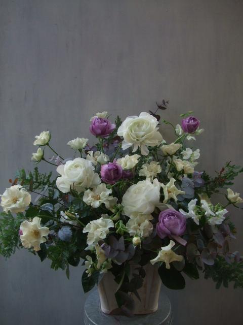 オークリーフ(紫色のラナンキュラス)_f0049672_1342372.jpg