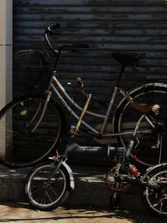 自転車二台_c0156717_07471086.jpg