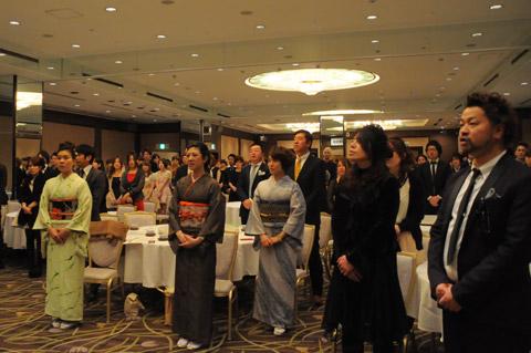 【brace】2014年株式会社ハーベン新年会 1.挨拶・体験発表など_c0080367_16234022.jpg