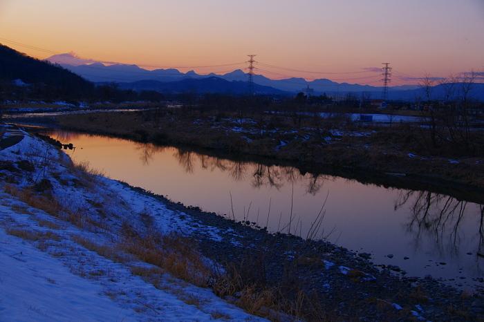 今日の碓氷河畔夕暮れ散歩_e0292469_18181528.jpg