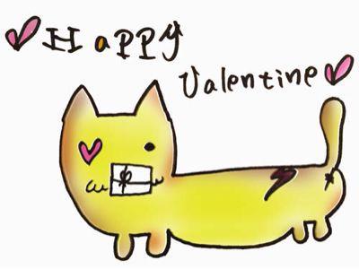 バレンタインデー。_b0249084_1628173.jpg