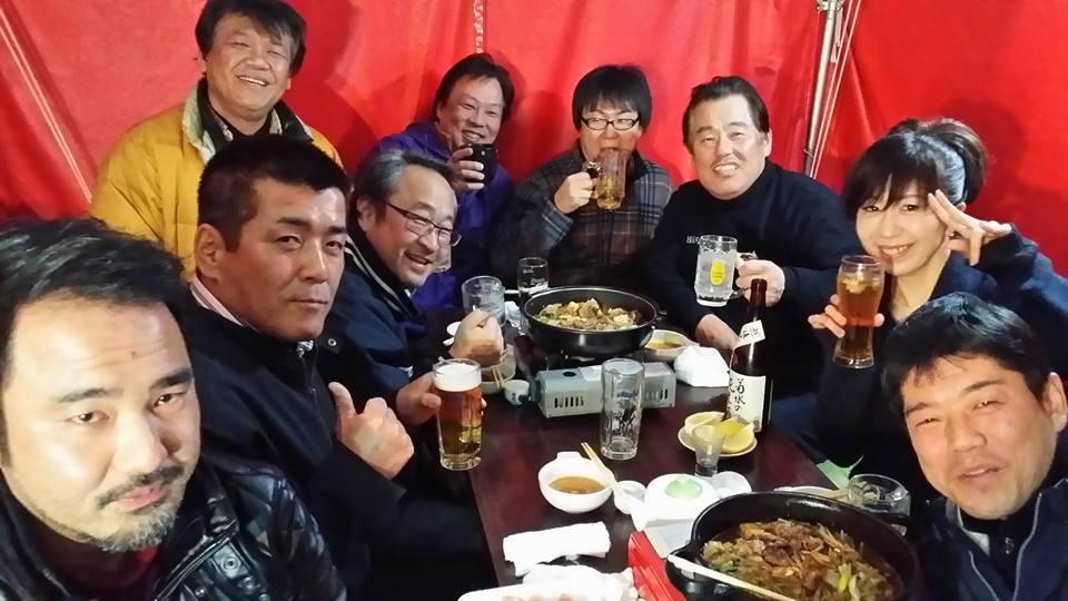 九反田町内会の仲間達とすき焼きパーティー!_c0186691_21182288.jpg