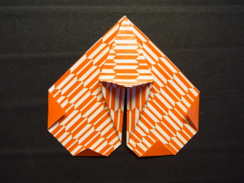 折り紙の動くハート cuore che batte ♡ Origami Ⅺ_b0246303_06452493.jpg