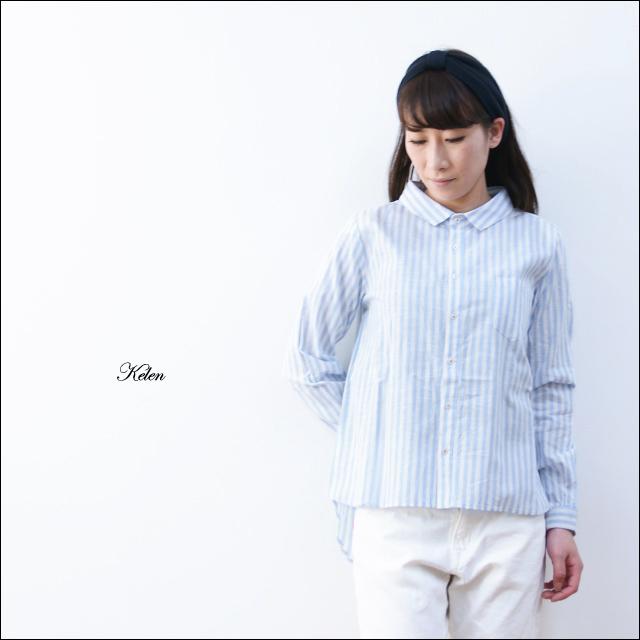 kelen [ケレン] Merel / ストライプビックシャツ [LKL14HBL4] LADY\'S _f0051306_1664228.jpg