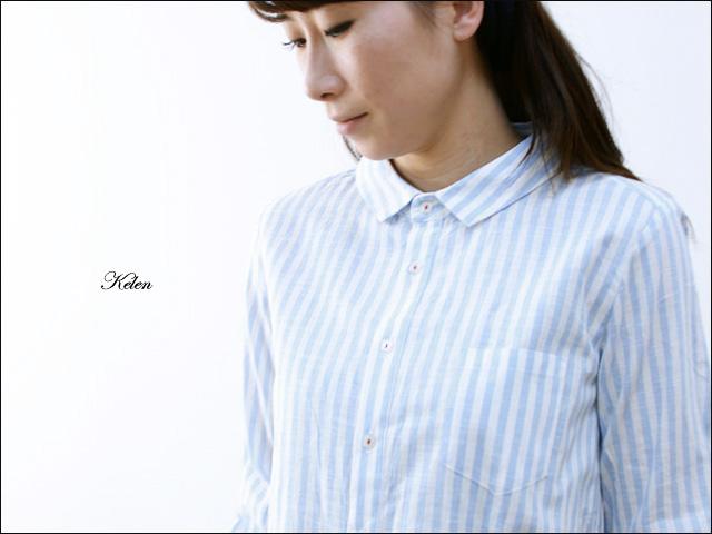 kelen [ケレン] Merel / ストライプビックシャツ [LKL14HBL4] LADY\'S _f0051306_1664442.jpg