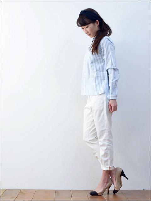 kelen [ケレン] Merel / ストライプビックシャツ [LKL14HBL4] LADY\'S _f0051306_166476.jpg