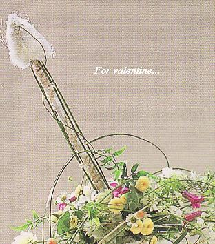 バレンタイン作品☆キューピッドの弓矢♪&夢に向かうこと・・・_c0098807_19531636.jpg