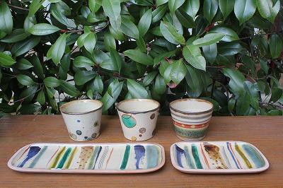 沖縄県読谷村の一翠窯さんから作品が入荷しました。(2014年2月13日)_a0139239_12214440.jpg
