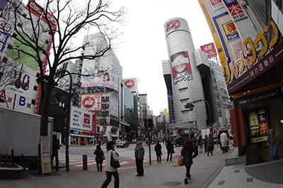 2月13日(木)の渋谷109前交差点_b0056983_17262694.jpg