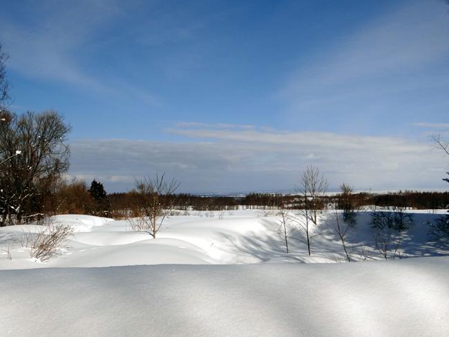 冬の岩木山ドライブ。遠くに観える権現崎や小さな丘の半鐘など♪_a0136293_1702546.jpg