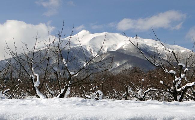 冬の岩木山ドライブ。遠くに観える権現崎や小さな丘の半鐘など♪_a0136293_17104394.jpg