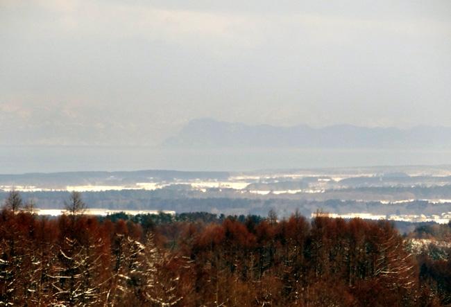 冬の岩木山ドライブ。遠くに観える権現崎や小さな丘の半鐘など♪_a0136293_173925.jpg
