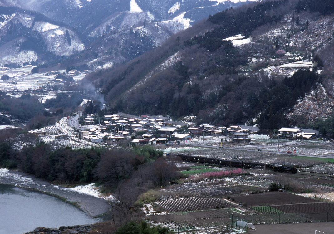 雪景色から黒い景色へ - 1988年・秩父 -_b0190710_22303048.jpg