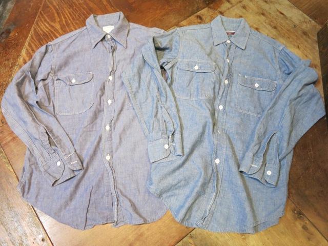 2/15(土)入荷!BIGMAC シャンブレーシャツ Sサイズ!_c0144020_14415056.jpg