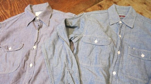 2/15(土)入荷!BIGMAC シャンブレーシャツ Sサイズ!_c0144020_14420999.jpg