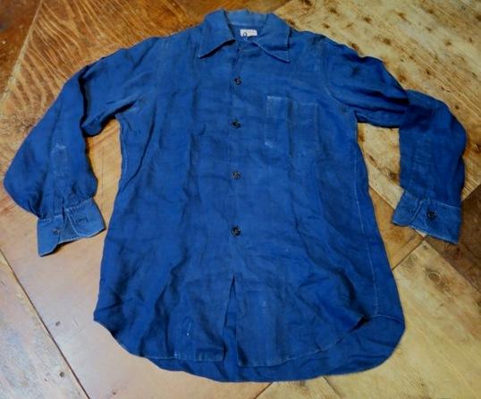 2/15(土)入荷!40-50'S BULLOCK'S PASADINA リネンシャツ!_c0144020_15051061.jpg
