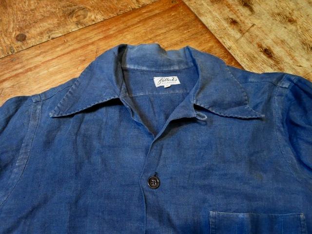 2/15(土)入荷!40-50'S BULLOCK'S PASADINA リネンシャツ!_c0144020_15051803.jpg