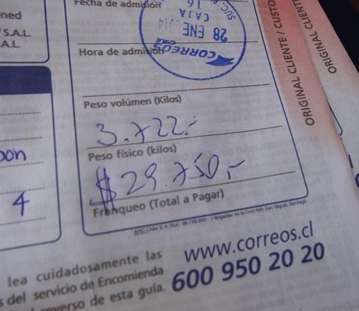 サンティアゴ郵便局とセクシー美脚カフェ、Cafe con Piernas(サンティアゴ,チリ)_e0182138_3272289.jpg