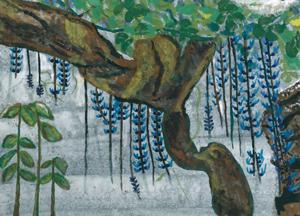 第二回・蔵織日本画塾作品展 18日までです。_d0178448_09252084.jpg