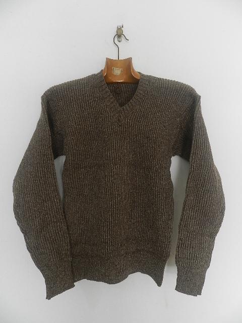 Swedish army 40\'s v-neck knit_f0226051_13295148.jpg