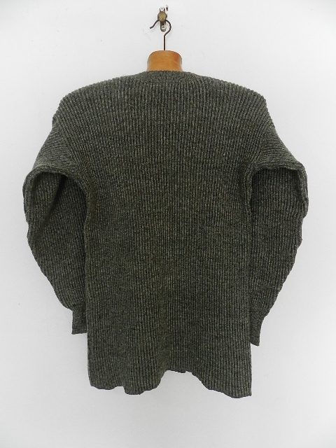 Swedish army 40\'s v-neck knit_f0226051_13305010.jpg