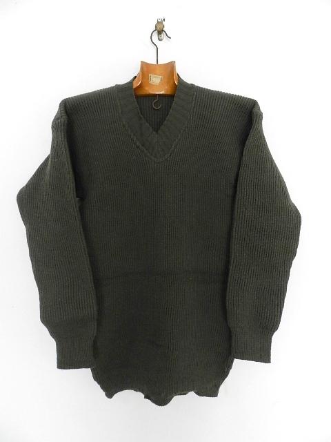 Swedish army 40\'s v-neck knit_f0226051_13312043.jpg
