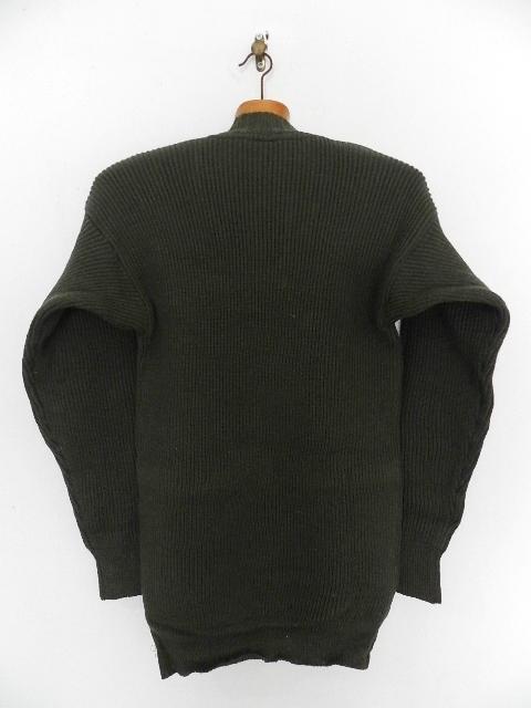 Swedish army 40\'s v-neck knit_f0226051_13313514.jpg
