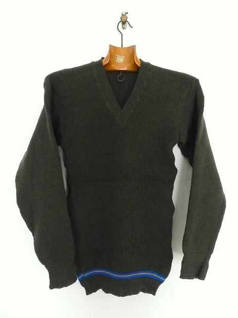 Swedish army 40\'s v-neck knit_f0226051_13331045.jpg