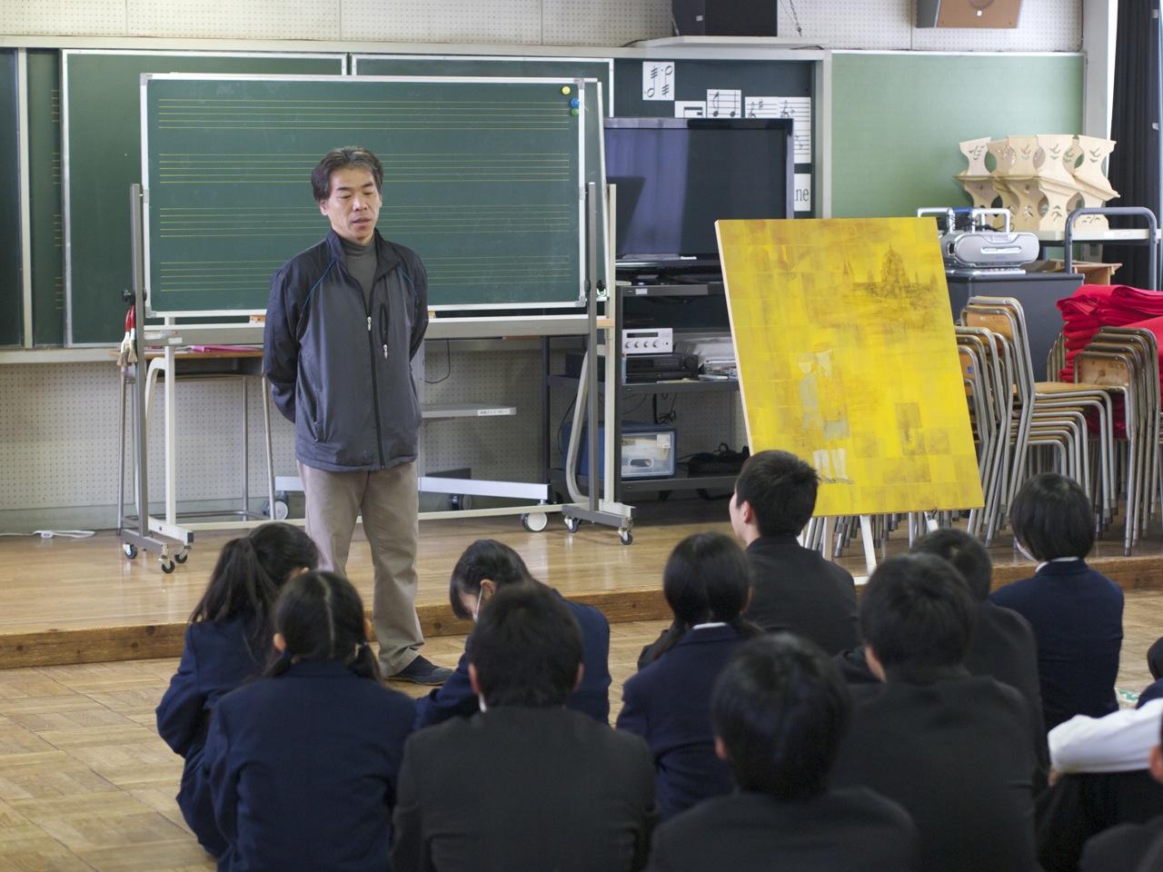 2月14日 小平市立上水中学校 : ...