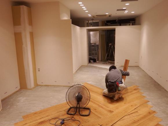 梅田某商業施設 ブティック案件進捗状況_f0300358_839233.jpg