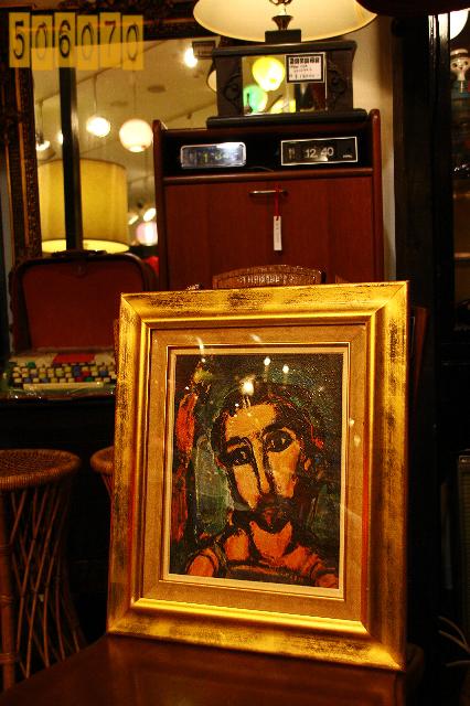 ジョルジュ・ルオー キリスト画_e0243096_1343113.jpg