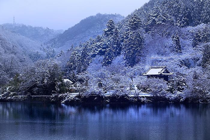 """""""雪の常国寺"""" そのⅠ_a0140608_7182517.jpg"""