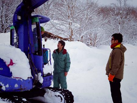 大雪の日のスウィートグラス_b0174425_19183538.jpg