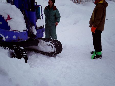 大雪の日のスウィートグラス_b0174425_19185822.jpg