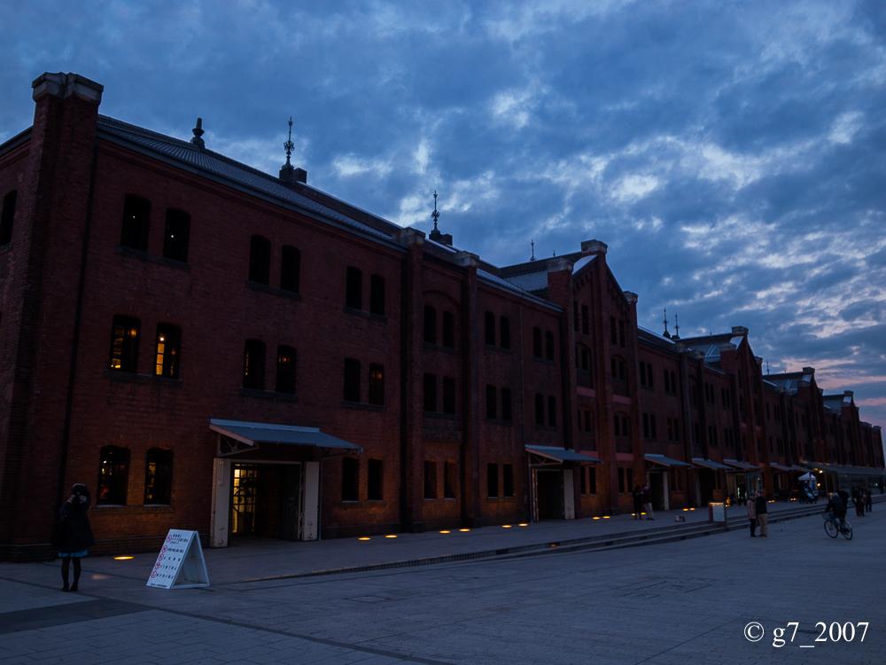 横浜 赤レンガ倉庫..._f0152550_1948481.jpg