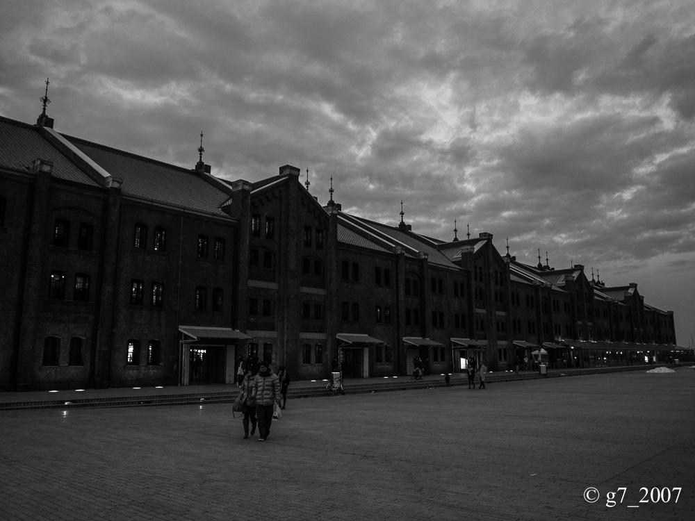 横浜 赤レンガ倉庫..._f0152550_19485157.jpg