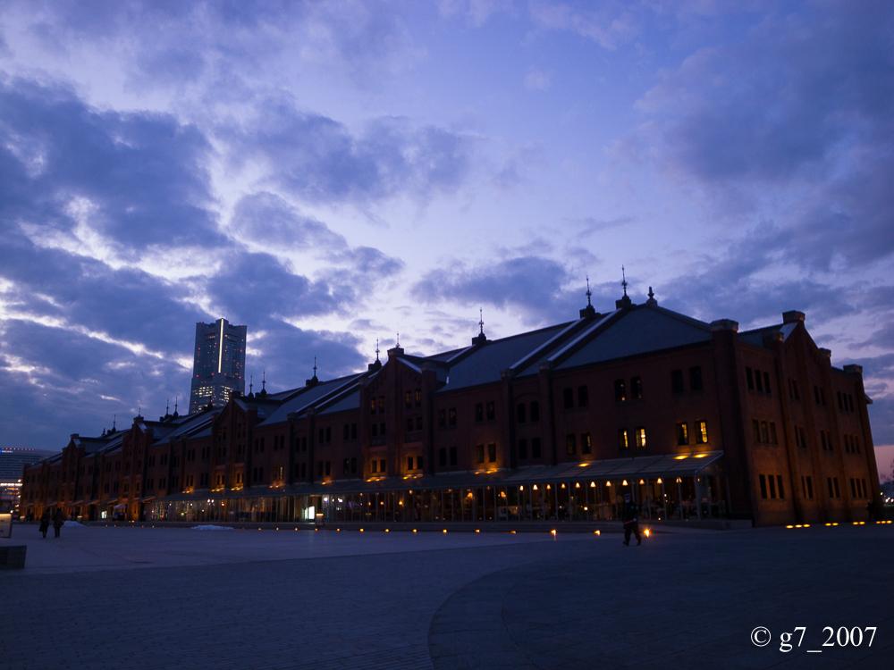 横浜 赤レンガ倉庫..._f0152550_19492211.jpg