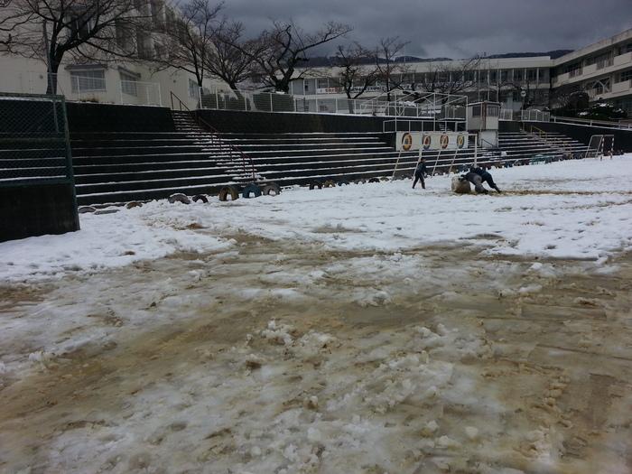 Aチーム@2/15 大雪で練習中止に(;´д`)_b0296154_191896.jpg
